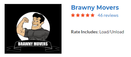 brawny movers labour only moving reviews